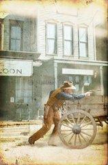 Western Angriff Cowboy