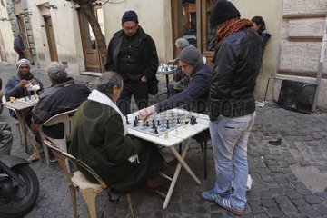 Schachspieler in Rom