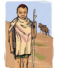 African Shepherd Boy