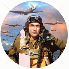 WW2 Pilot Flugzeuge