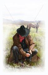 Sheriff Faehrtensuche Western