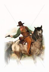 Western Verteidigung Reiter