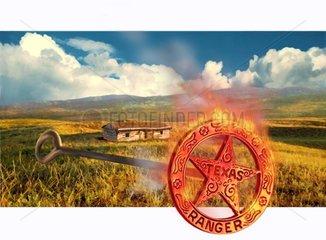Texas Ranger Farmhaus Praerie