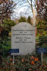 Berlin  Deutschland  Ehrengrab von Wenzeslaus von Knobelsdorff
