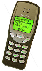 sehr fruehes Mobile Marketing von 12snap  Kulthandy Nokia 3310  2000