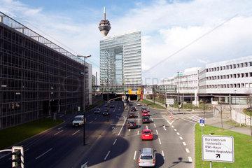 Duesseldorf  Deutschland  Sitz der Landesregierung von Nordrhein-Westfalen