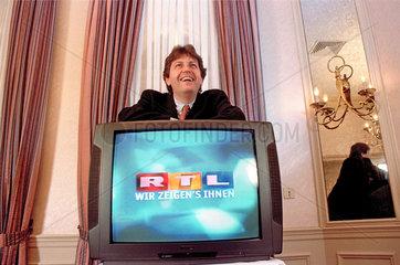 Gerhard Zeiler  RTL-Chef  1998