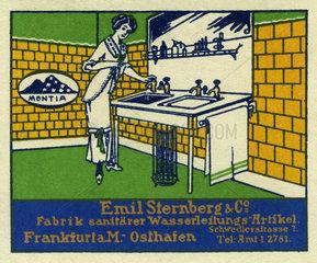 Werbung fuer Sanitaerbedarf  1912