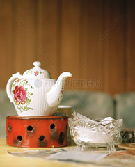Tee trinken bei Oma