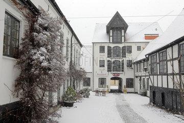 Flensburg  Deutschland  der Brasseriehof in Flensburg
