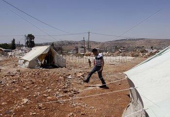 MIDEAST-JERUSALEM-PALESTINIAN DWELLING-DEMOLISHMENT
