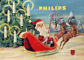 Christbaumbeleuchtung  Philips  1959