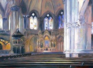Serie Muenchen St.-Lukas-Kirche