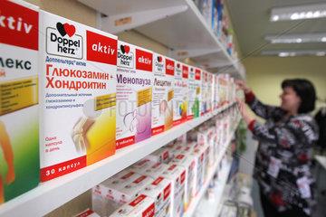 Flensburg  Deutschland  Marketingabteilung des Pharmaunternehmens Queisser