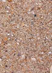 Sandprobe aus Tenby  Wales  United Kingdom