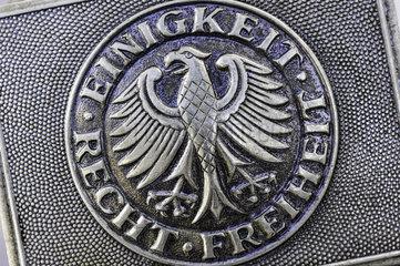 Koppelschloss der Bundeswehr-Uniform