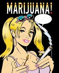 Marijuana Rauschgift