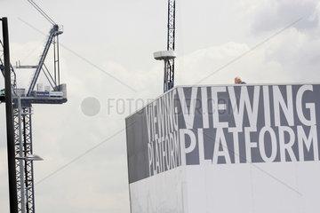 Aussicht aus eine Viewing Platform in London