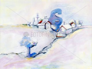 Schneelandschaft - Serie Paragraph
