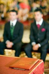 Sevilla  Spanien  homosexuelle Hochzeit im Rathaus