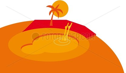Globus Pool Weltkugel Symbol Logo freigestellt