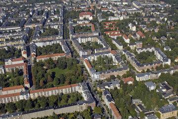 Chemnitz  Deutschland  Luftbild Chemnitz Kassberg