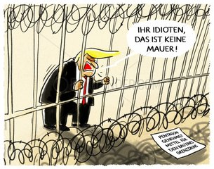 Trumps Zaun