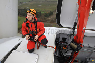 Enge-Sande  Deutschland  Sicherheits- und Technik-Training im Bereich Windenergie