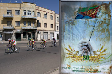 Asmara  Eritrea- Cyclist race