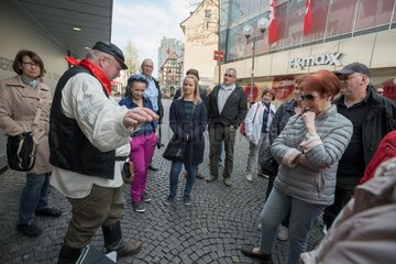 Giessen guided city tour