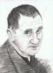 Bertolt Brecht Portrait 10.2.1898-14.8.1956