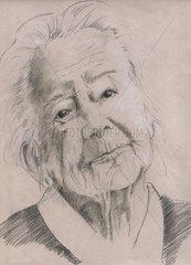 Hilde Domin Portrait 27.7.1909-22.6.2006