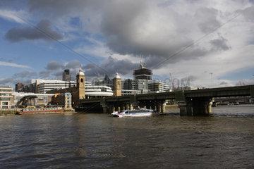 Londoner Stadtentwicklung an der Thames