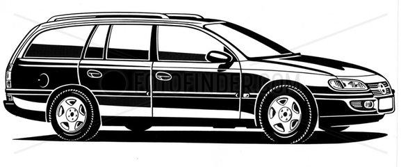 Opel Astra Kombi BJ 90er Jahre