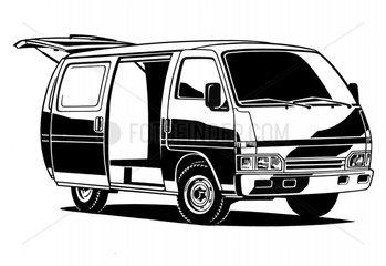 Opel Kleinbus BJ 90er Jahre