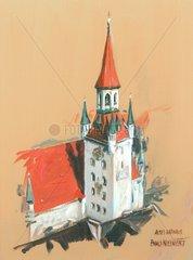 Serie Muenchen Altes Rathaus