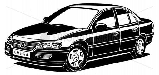 Opel Omega BJ 90er Jahre Limousine