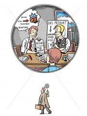 Berater Werber Werbeberatung Produktberatung Business