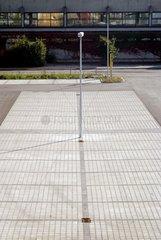 leerer Parkplatz.