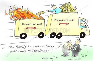 Fernwaerme alternative Energien