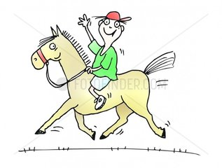 Ponyreiten Logo