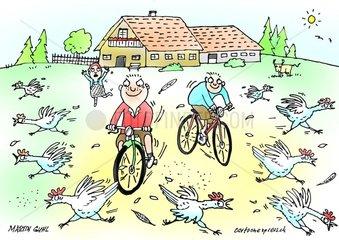 Huehnerfarm Kinder Ferien