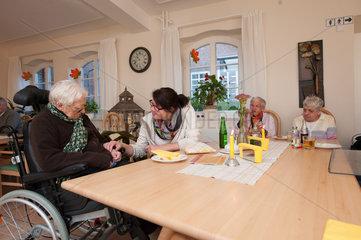 Aukrug  Deutschland  der Erlenhof ist eine Wohn- und Werkstaette fuer behinderte Menschen
