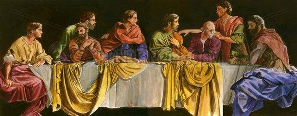 Diskussion letztes Abendmahl Juenger Bibelgeschichte