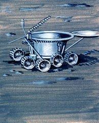Mondfahrzeug Mondlandung
