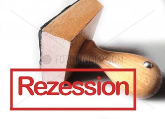 Stempel Rezession