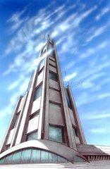 Tower Hochhaus Fantasie Gebilde