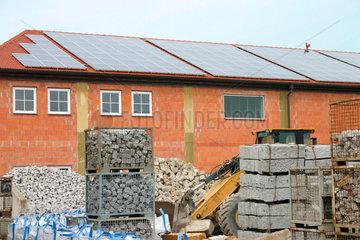 Photovoltaikanlage in eine Bayerisch Gewerbegebiet