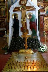 Litauen/Lithuania/Vilnius. orthodoxe Kirche des Heilige Demeter