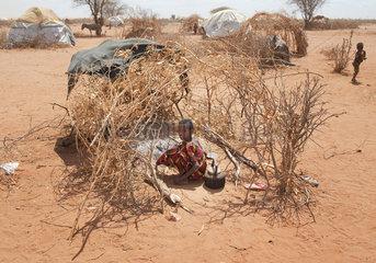 Fluechtlingslager Dadaab in Kenia